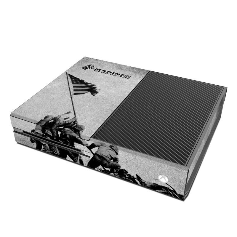 Microsoft Xbox One Skin Flag Raise By US Marine Corps