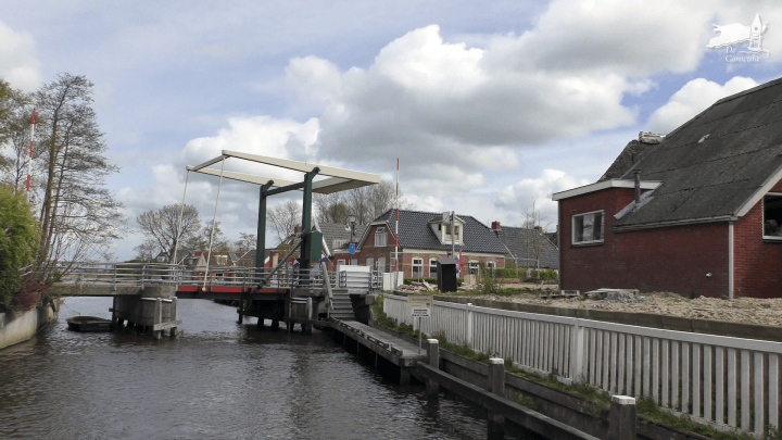 Varen met de Canicula - Vaarroute Rondje Noord-Friesland van Zoutkamp naar het Bergumermeer