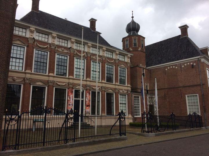 Het voormalige stadspaleis van Marijke Meu / Aanleggen in Leeuwarden - De Canicula