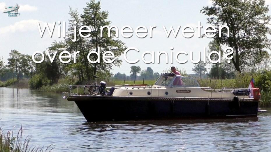 Varen met de Canicula - Over de Canicula