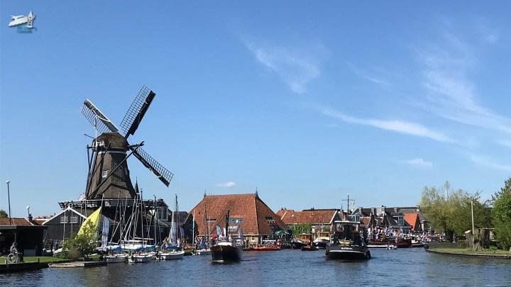 Sleepbootdagen Woudsend / Rondje Noord Nederland: van Sloten naar Grou- De Canicula