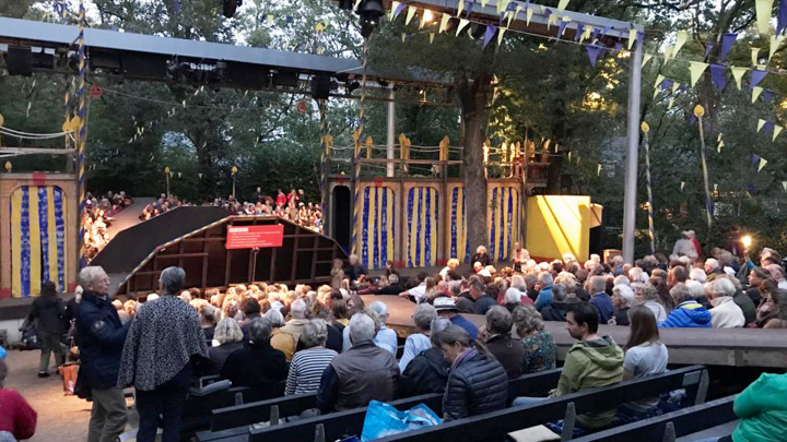 Shakespeare in Diever / Aanleggen in Dieverbrug - De Canicula