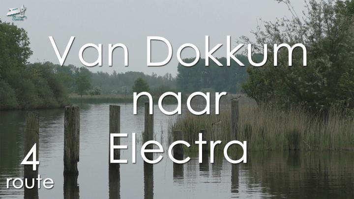 Varen met de Canicula - Vaarroute van Dokkum naar Electra