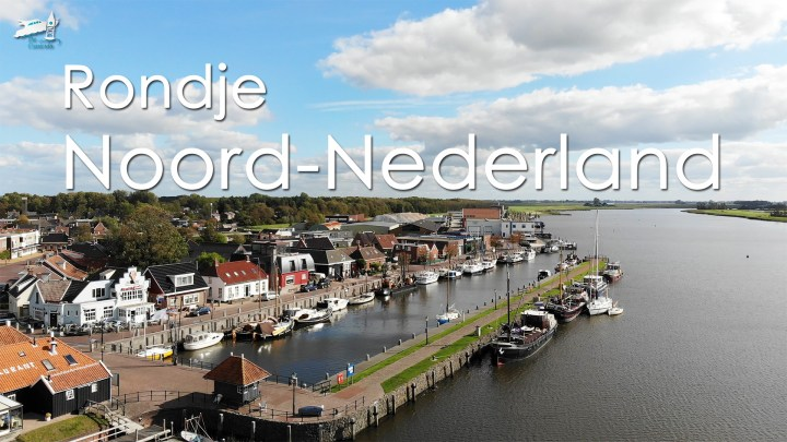 Varen met de Canicula - Vaarroute Rondje Noord-Nederland