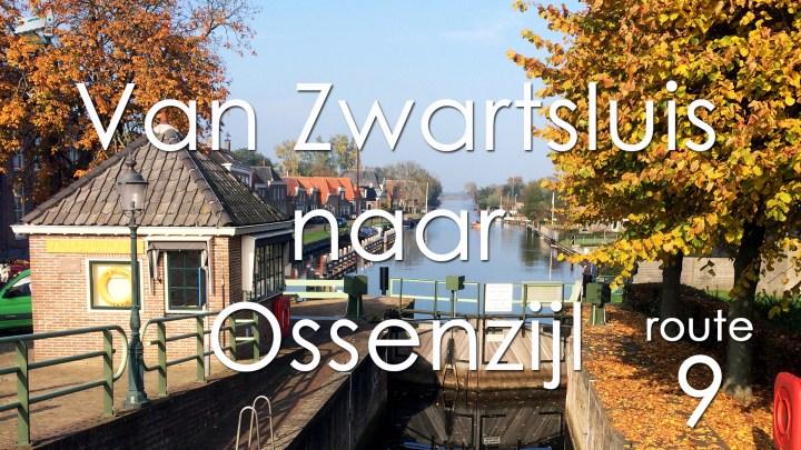 Varen met de Canicula - Vaarroute Rondje Noord Nederland van Zwartsluis naar Ossenzijl