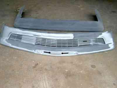 decapage de pièce de carrosserie par choc ABS aile carbone kevlar