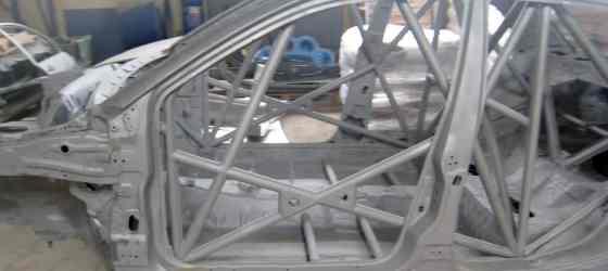 sablage chassis tubulaire préparation rallye voiture de compétition