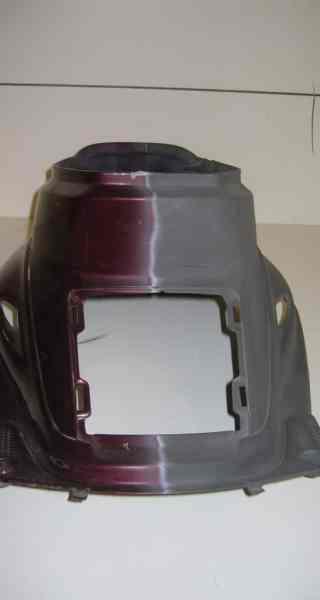 décapage de peinture sur carénage en abs