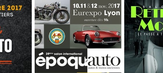 Decapsoft sera présent au salons auto collection de poitiers, epoquauto lyon et retromobile paris