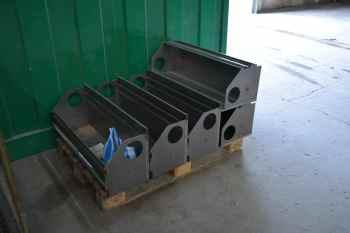 aerogommage vegetal meuble metalique