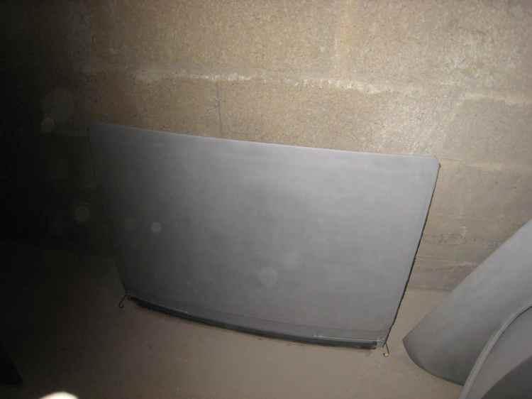 fermeture de toit 203 peugeot décapage tole fine