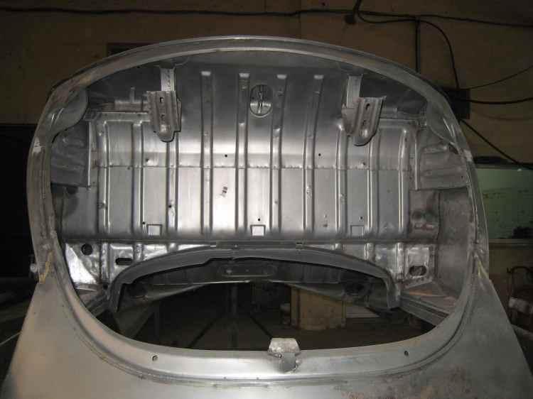 vw cox compartiment moteur nettaoyage décapage