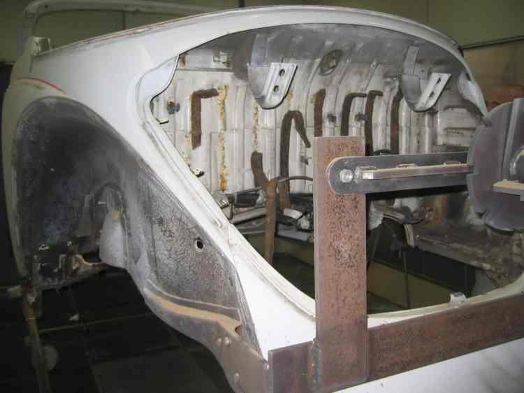 décapage compartiment moteur coccinelle