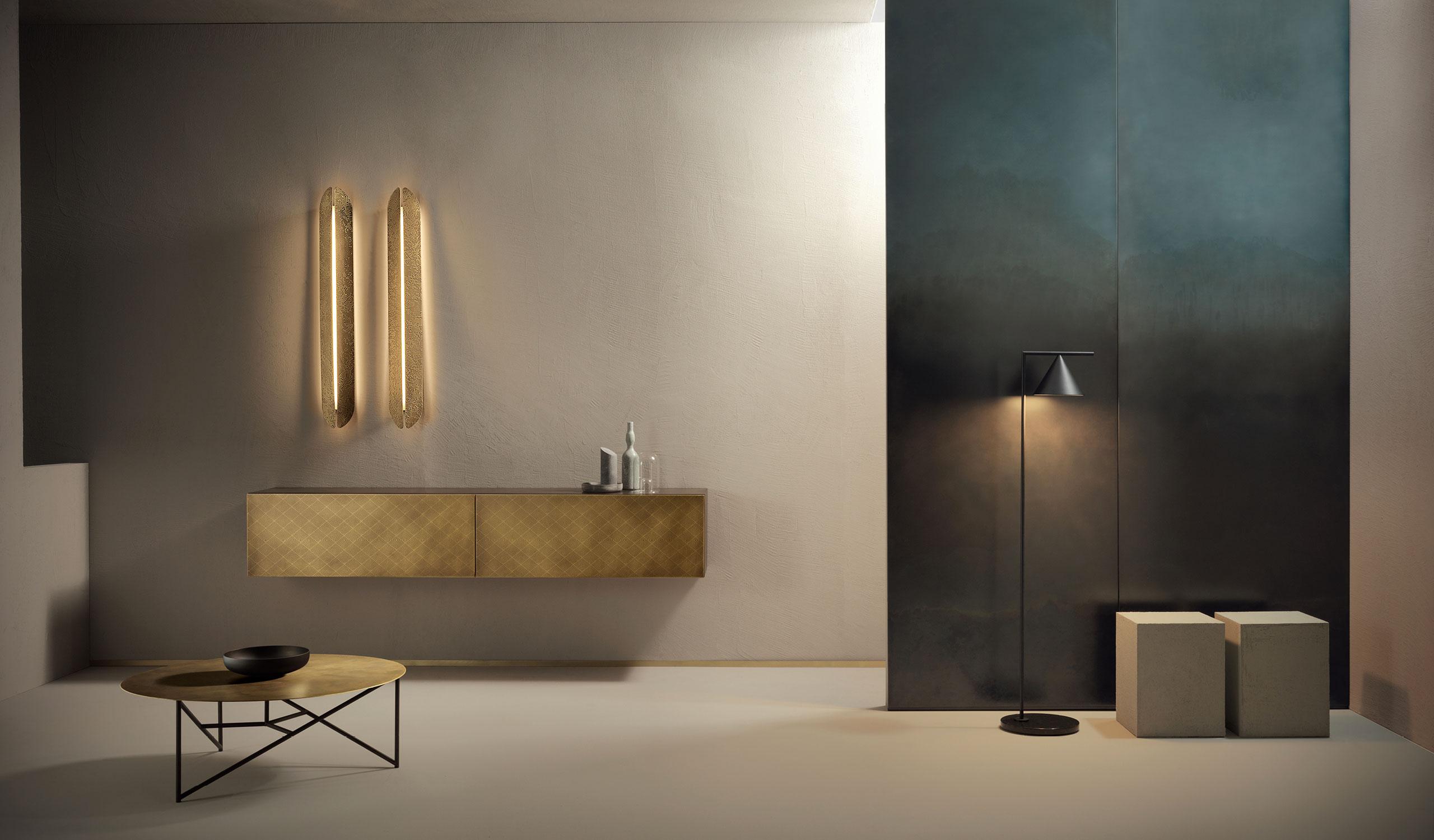 per arredare un ufficio in casa devi trovare dei mobili pratici che siano in armonia con lo stile del tuo appartamento. De Castelli Metal Becomes Furniture Surface Design