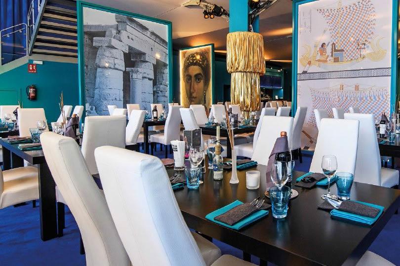 Palcos Vip Tenis - Mutua Madrid Open - restaurante 3 - decateam