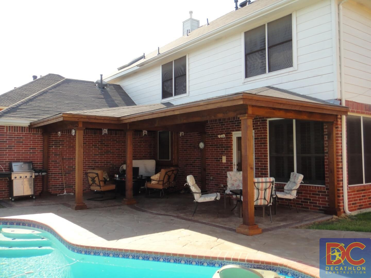 hip and ridge patio covers gallery