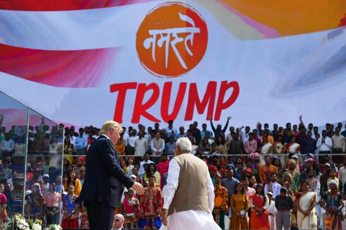 46 million people watched namaste trump event on 180 tv channels: barc data   deccan herald