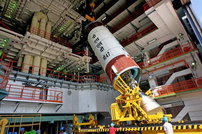 ISRO begins countdown for CARTOSAT-3's Wednesday launch | Deccan Herald