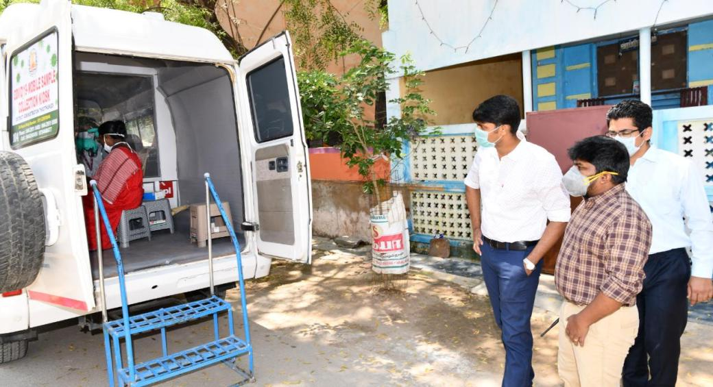 In Tamil Nadu, vans to collect COVID-19 samples from patients ...