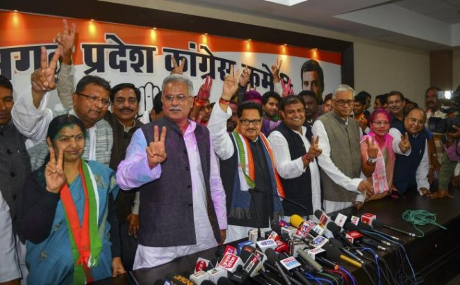 Image result for After Congress's win, Chhattisgarh gears up to resolve farmer's issue