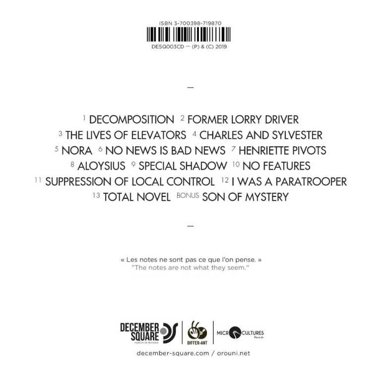 DESQ003LP_OROUNI_CD_BACK