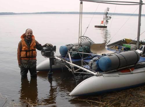 Aleksei Sigaev - Portrait with Catamaran