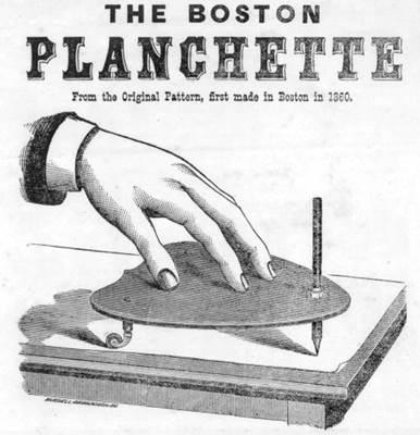 Boston Planchette - Cottrell Cornhill (1860)
