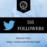 Decimononic - Join our Twitter community!!