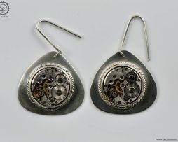Decimononic - Air Nostrum earrings