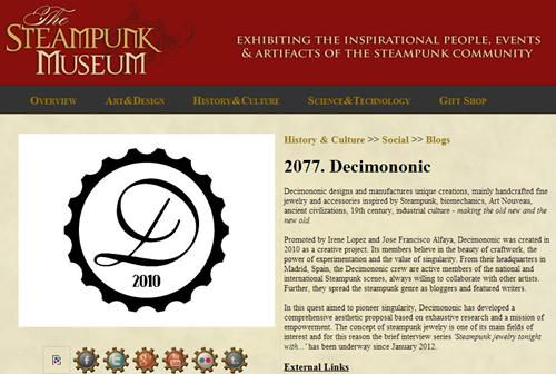 Decimononic at The Steampunk Museum