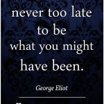 Words of Singularity – George Eliot