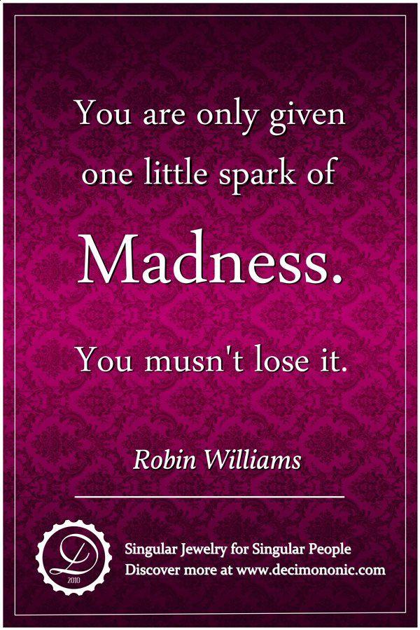 Decimononic - Words of Singularity - Robin Williams