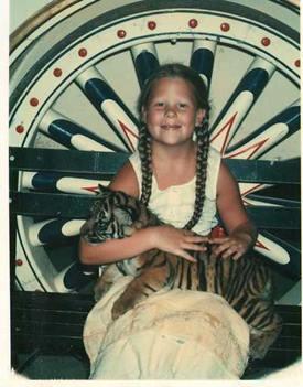 Gretchen Jacobsen - Circus World Tiger