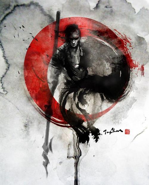 JungShan Ink - Samurai
