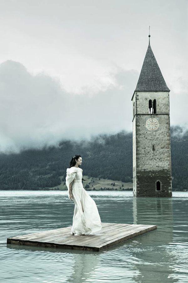 """Photographer: Andreas Waldschuetz """"Tintagel"""" - Dress: Marius Janusauskas"""
