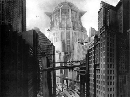 Metropolis (Fritz Lang, 1927) - Art Deco outdoors