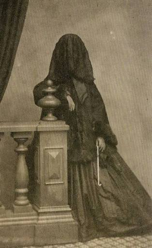 Mourning dress 1860s