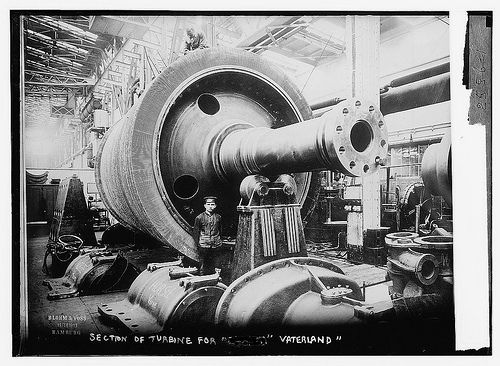 Section of Turbine for VATERLAND