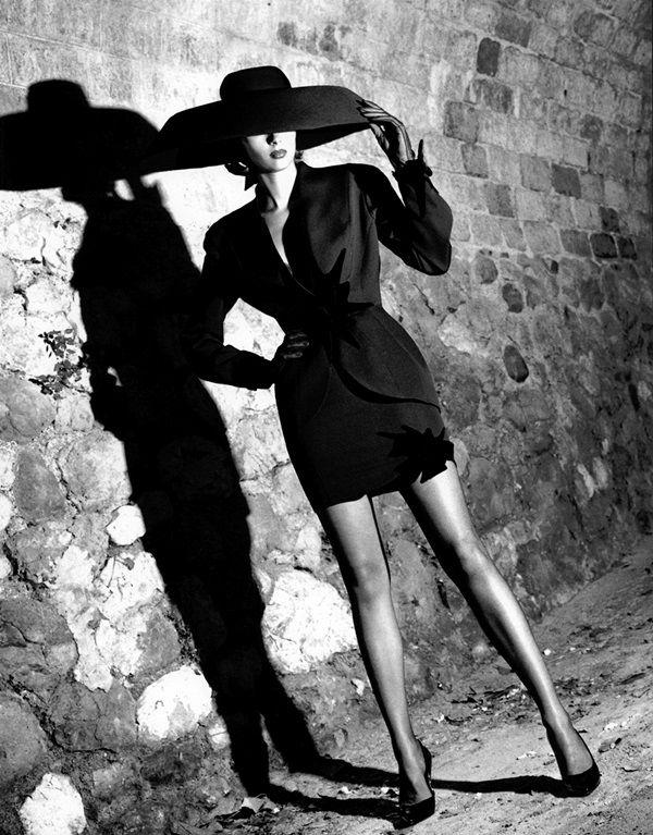 Thierry Mugler by Helmut Newton