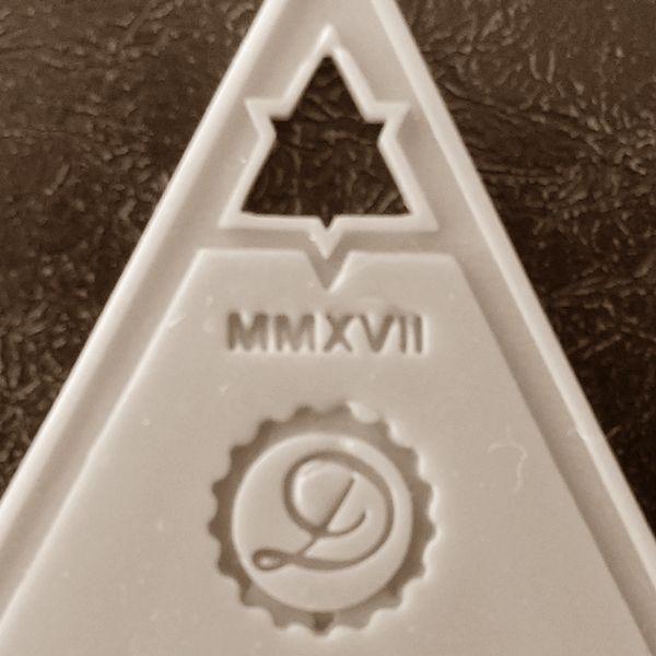 Decimononic - Moriar Planchette - Sterling silver pendant