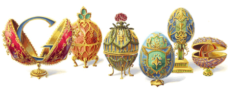 Doodle - 166th Anniversay Faberge Birth