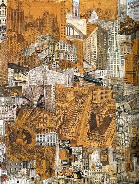 Metropolis collage by Roelof Paul Citroen