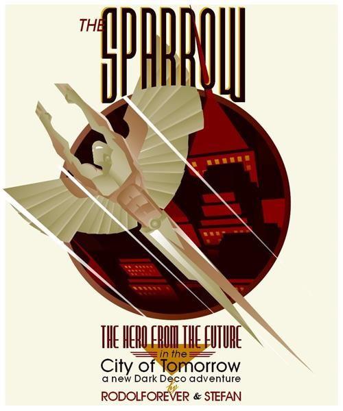The Sparrow by Stefan Prohaczka