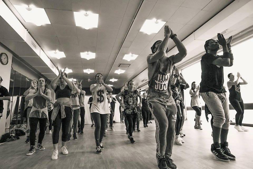 Dancehall class Brussels
