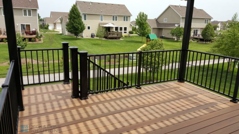 Timbertech Legacy Tigerwood Deck And Pergola Des Moines