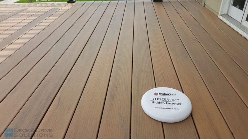Timbertech Legacy Tigerwood Deck And Pergola Des Moines