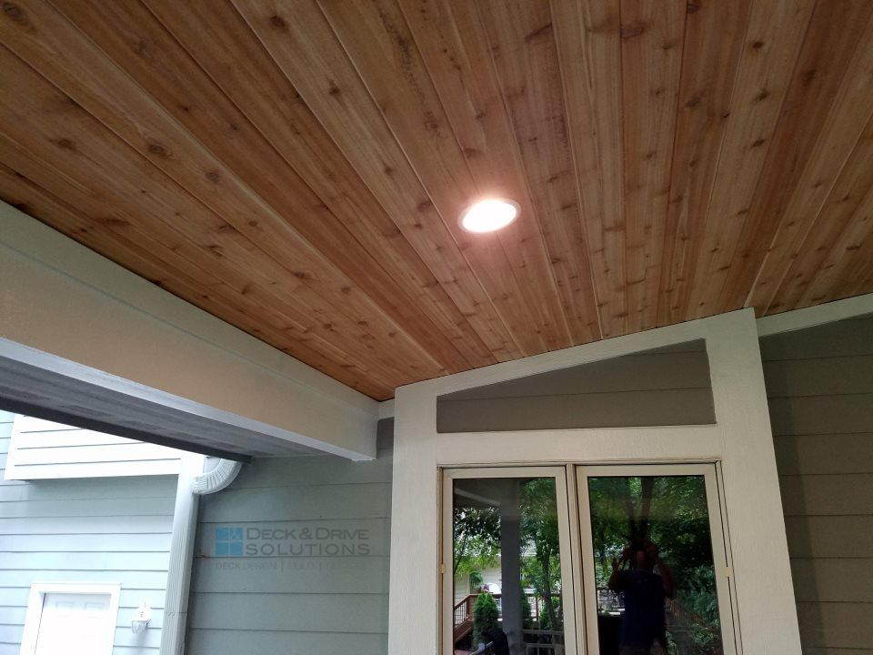 Tongue And Groove Porch Ceiling
