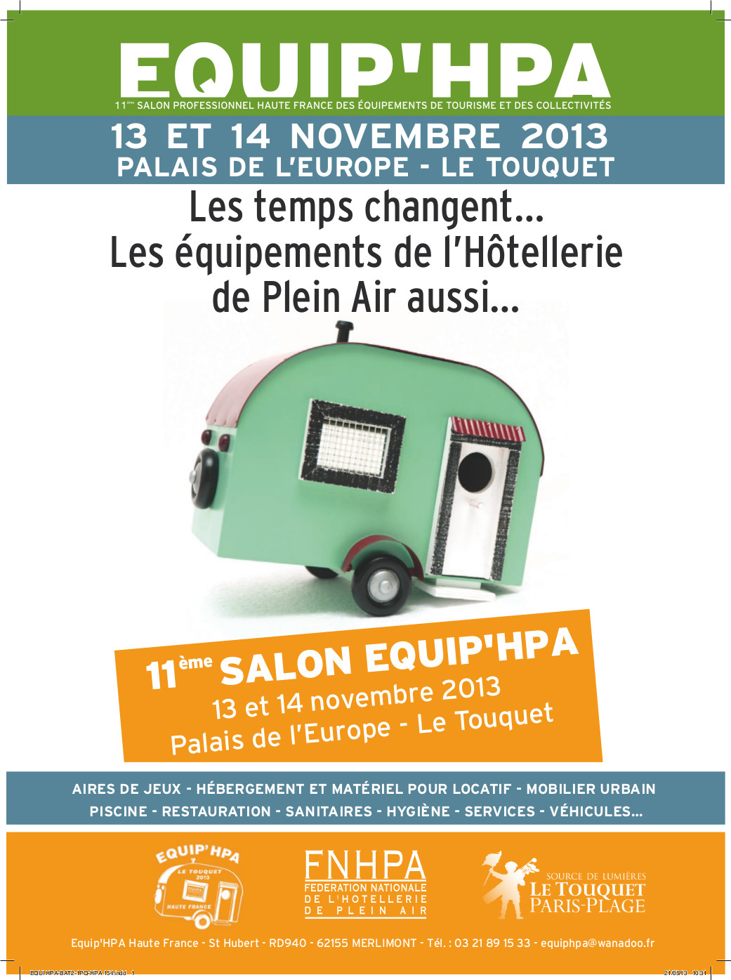 Salon equi 39 hpa le touquet 13 14 novembre terrasses deckit for Salon hpa touquet