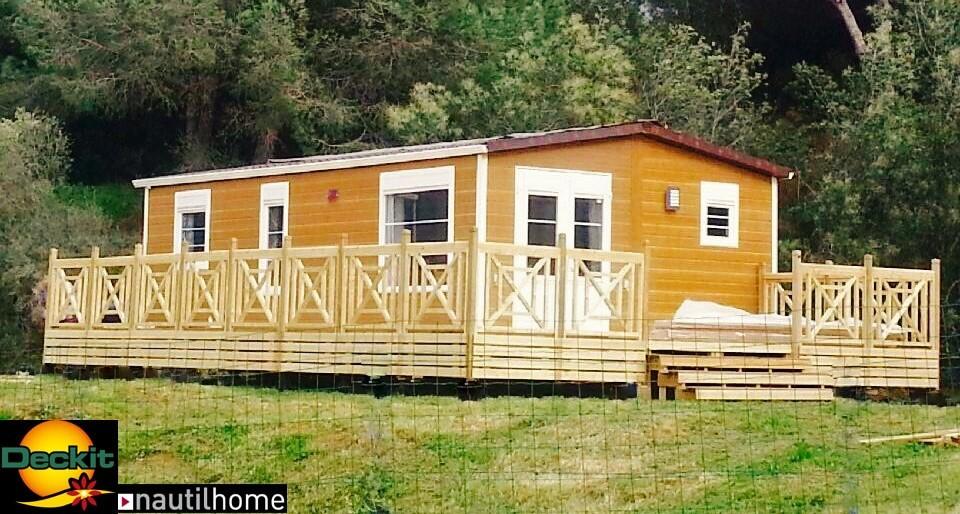 revendeur terrasses mobil home deckit en corse terrasse mobil home deckit fabricant. Black Bedroom Furniture Sets. Home Design Ideas