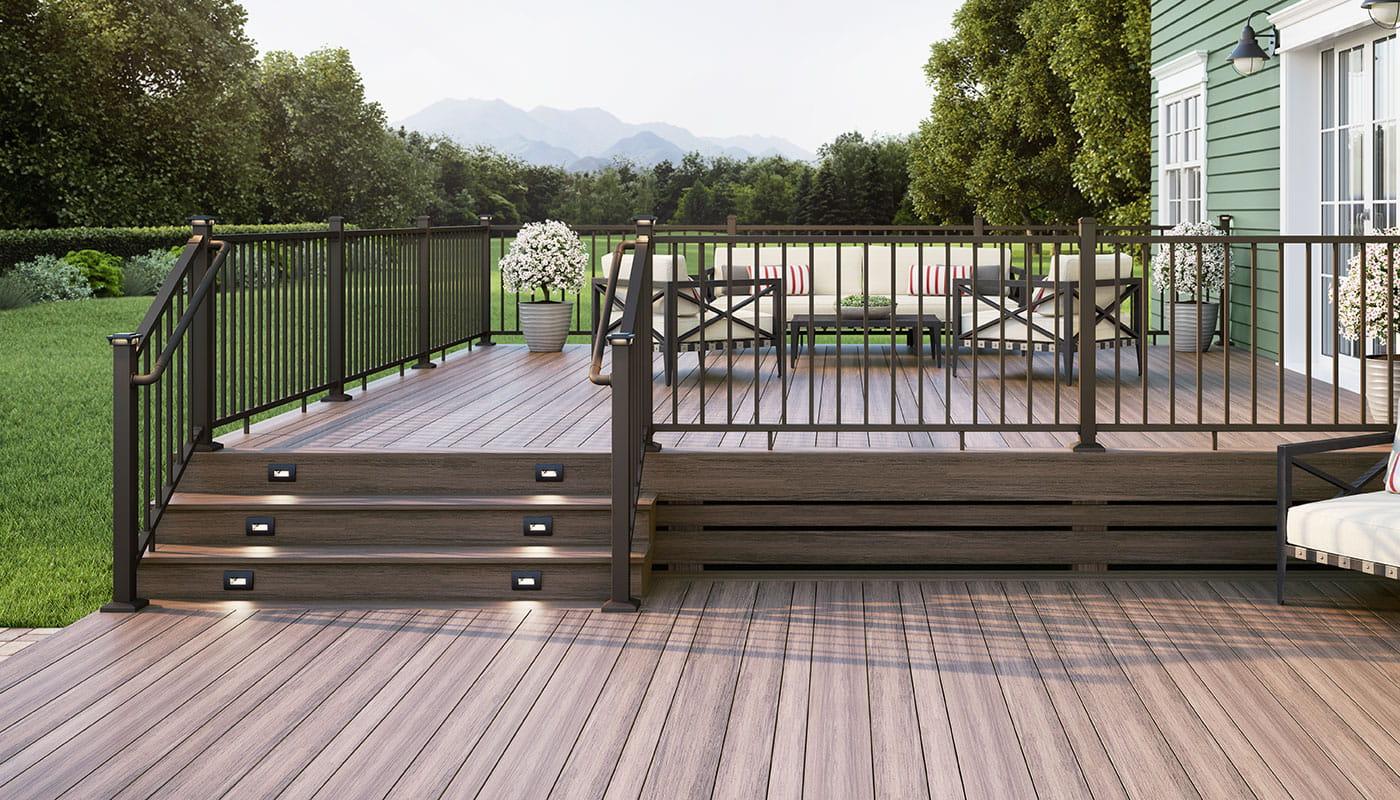 deck rail options accessories